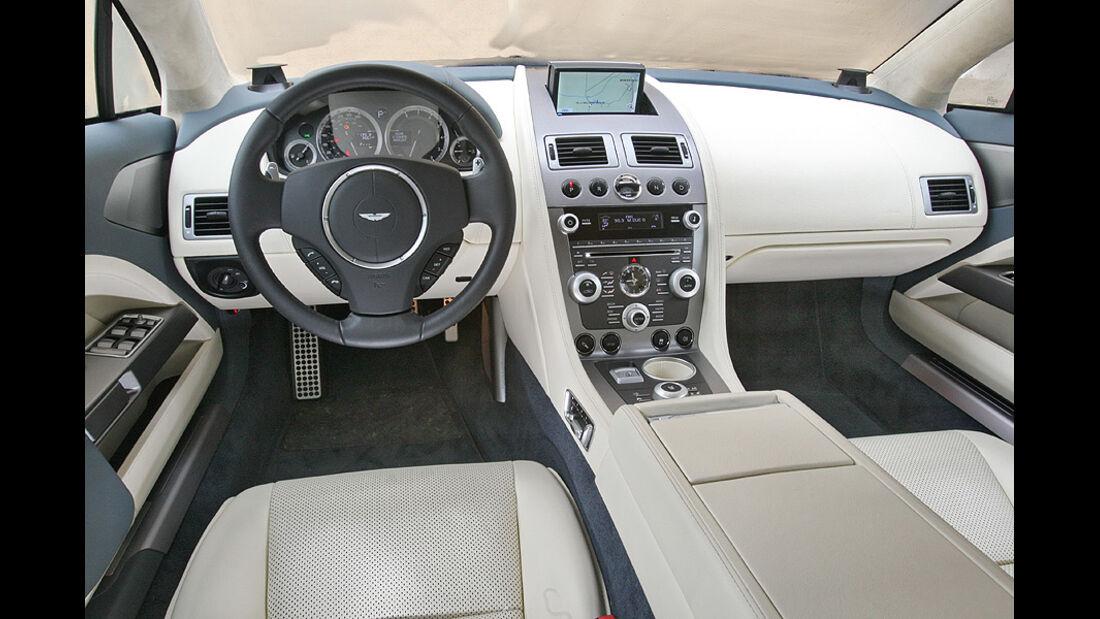 Aston Martin Rapide Cockpit
