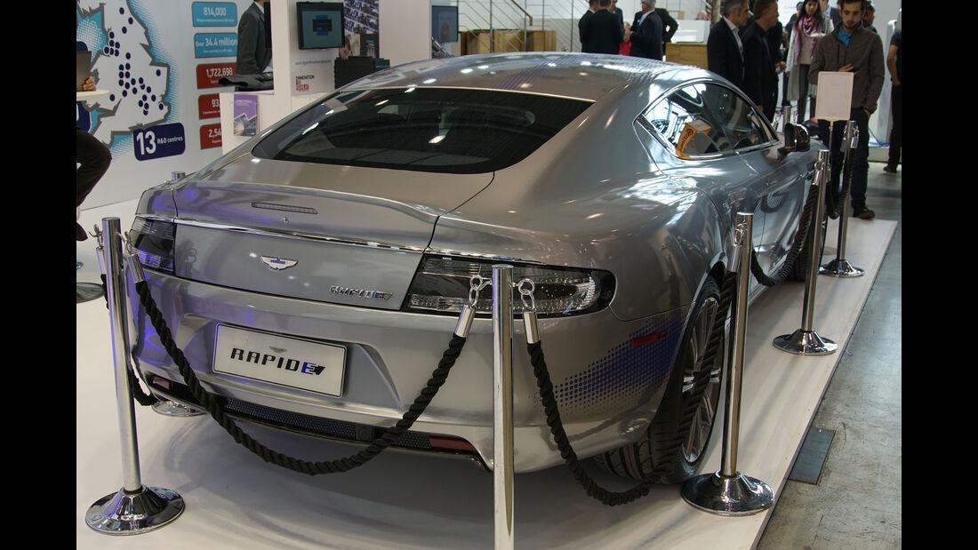 Aston Martin Rapide E Concept - Electric Vehicle Symposium 2017 - Stuttgart - Messe - EVS30