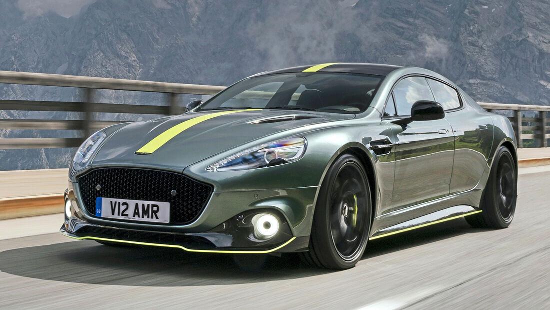 Aston Martin Rapide, Exterieur