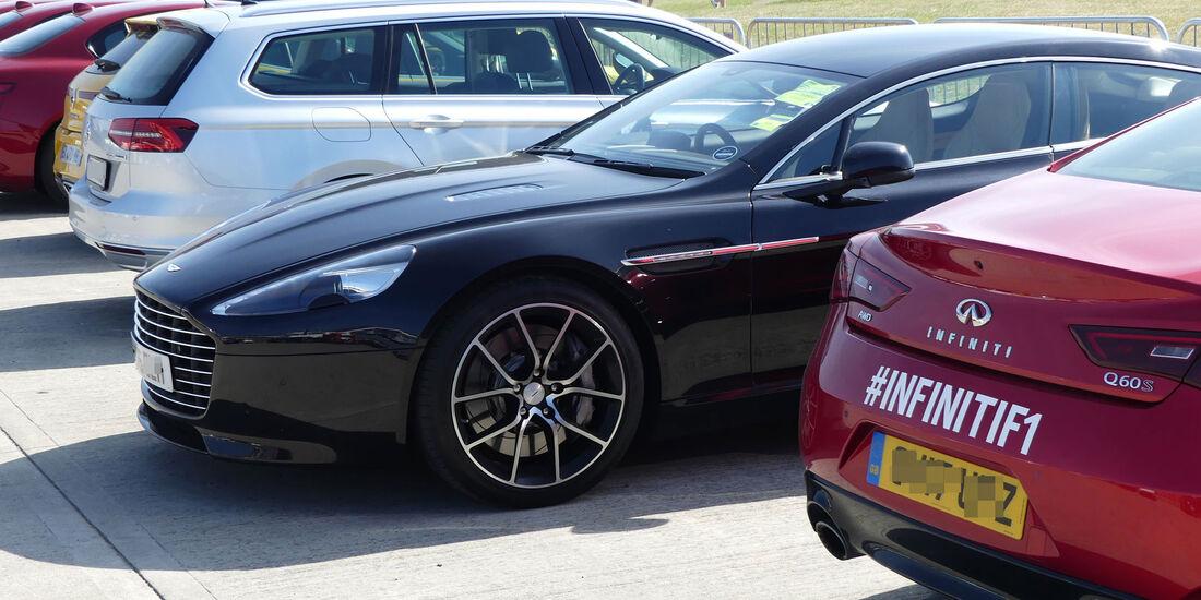 Aston Martin Rapide - Fahrerautos - GP England 2018 - Silverstone