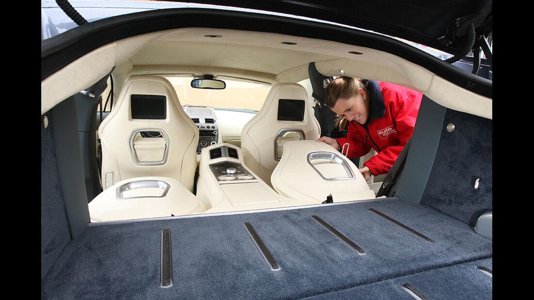 Aston Martin Rapide Kofferraum
