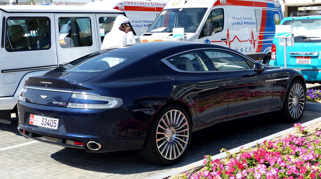 Aston Martin Rapide S - F1 Abu Dhabi 2014 - Carspotting