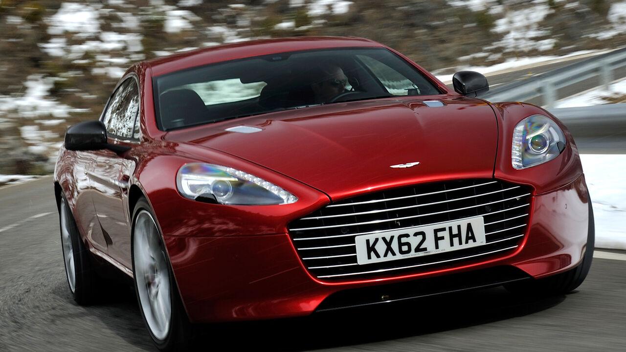 Aston Martin Rapide S Im Fahrbericht Veredelter Reise Express Auto Motor Und Sport