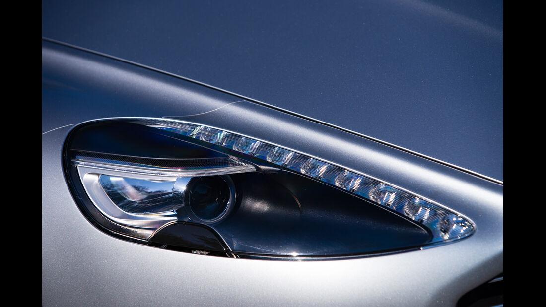 Aston Martin Rapide S, Frontscheinwerfer