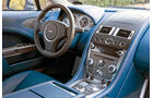 Aston Martin Rapide S, Lenkrad, Mittelkonsole