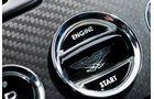 Aston Martin Rapide S, Startknopf