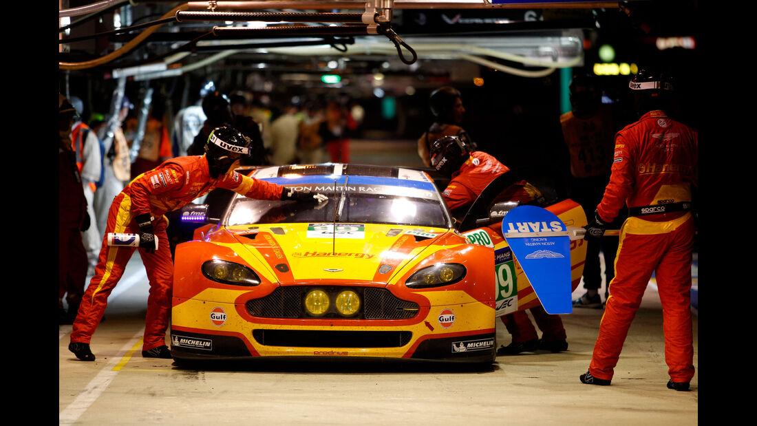 Aston Martin - Startnummer #99 - 24h Rennen Le Mans - 1. Qualifying - Mittwoch - 10.6.2015