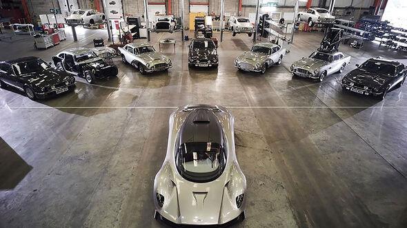 Aston Martin Teaser James Bond
