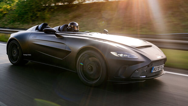 Aston Martin V12 Speedster Prototyp