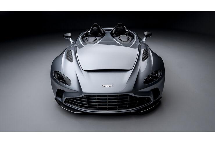 Aston Martin V12 Speedster Extrem Roadster Mit 700 Ps Auto Motor Und Sport
