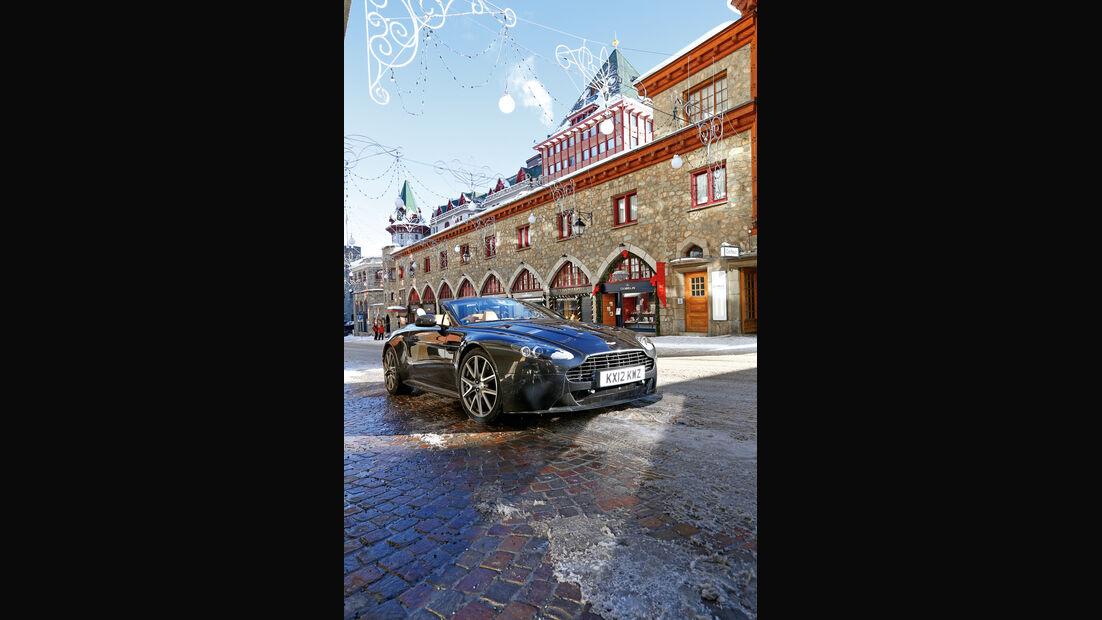 Aston Martin V12 Vantage Roadster, Frontansicht