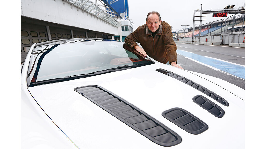 Aston Martin V12 Vantage S, Horst von Saurma