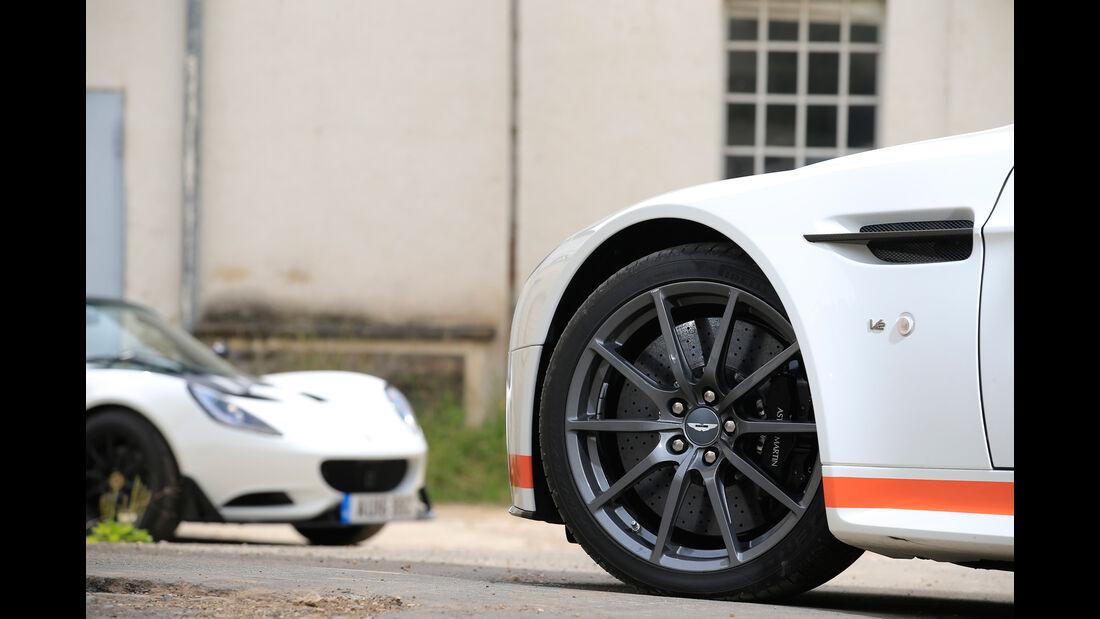 Aston Martin V12 Vantage S, Rad, Felge