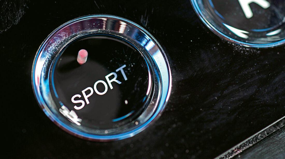 Aston Martin V12 Vantage S, Sporttaste