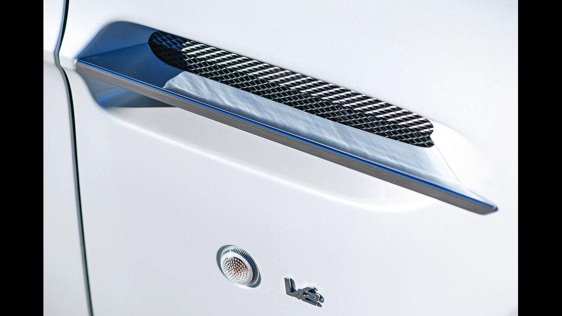 Aston Martin V12 Vantage S, Türgriff