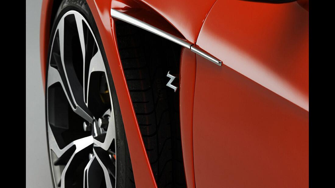 Aston Martin V12 Zagato Concept, Entlüftungskiemen