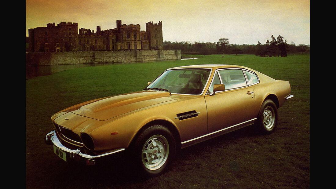 Aston Martin V8 - Motor
