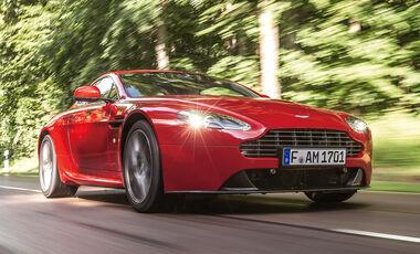 Aston Martin V8 Vantage, Frontansicht