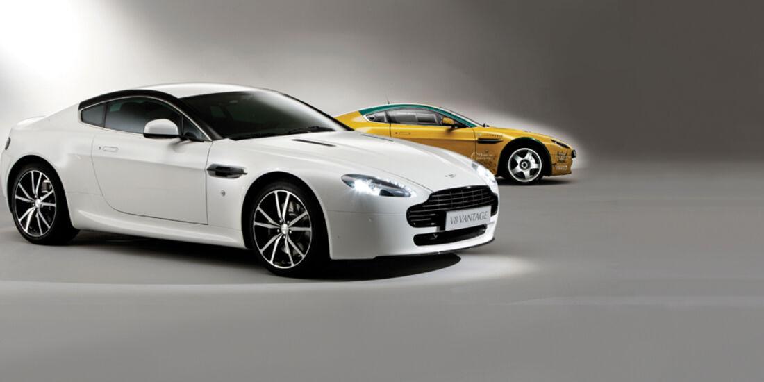 Aston Martin V8 Vantage N420, Rennversion