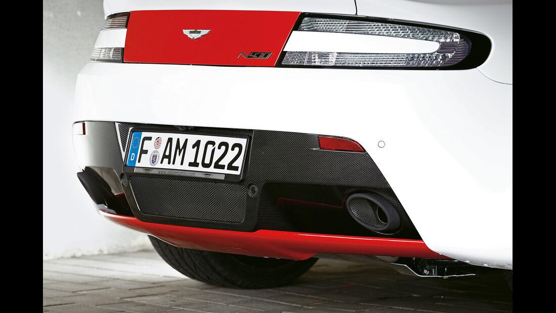 Aston Martin V8 Vantage N430, Heck