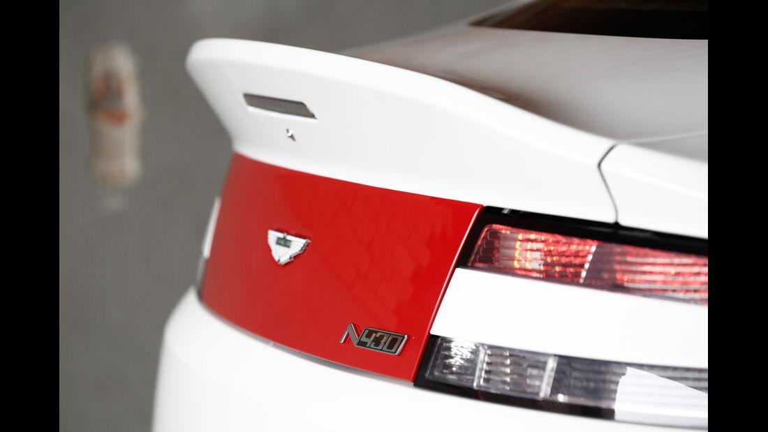 Aston Martin V8 Vantage N430, Heckschürze