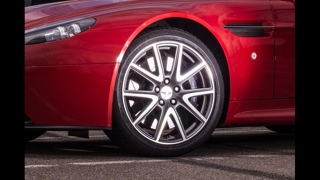 Aston Martin V8 Vantage, Rad, Felge