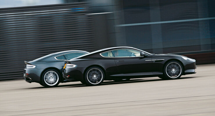 Aston Martin V8 Vantage S, Aston Martin Virage