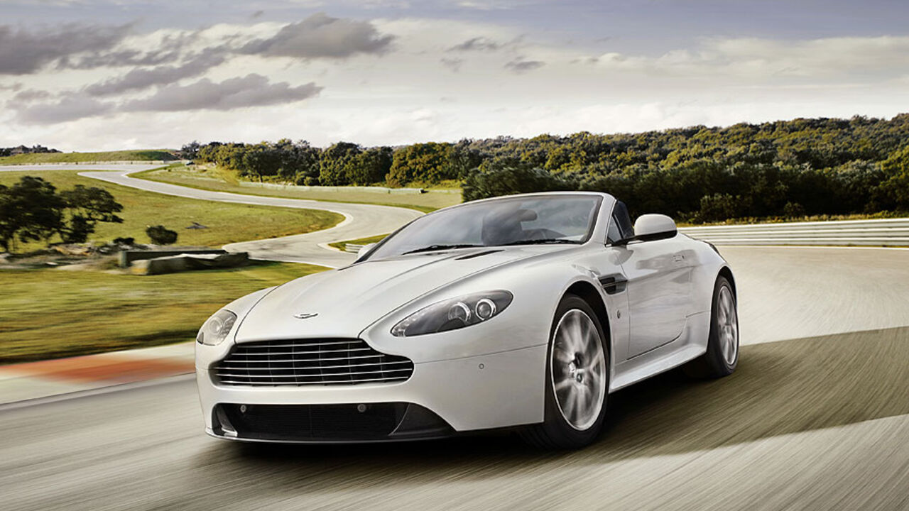 Aston Martin V8 Vantage S Neues Sportmodell Für Dynamiker Auto Motor Und Sport