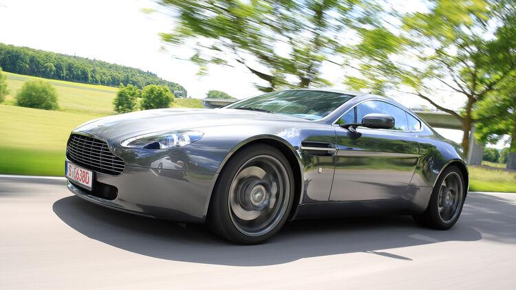 Aston Martin V8 Vantage Und Jaguar Xkr Im Gebraucht Check Auto Motor Und Sport