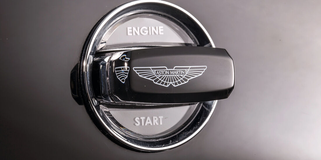 Aston Martin V8 Vantage, Start-Stopp-Automatik