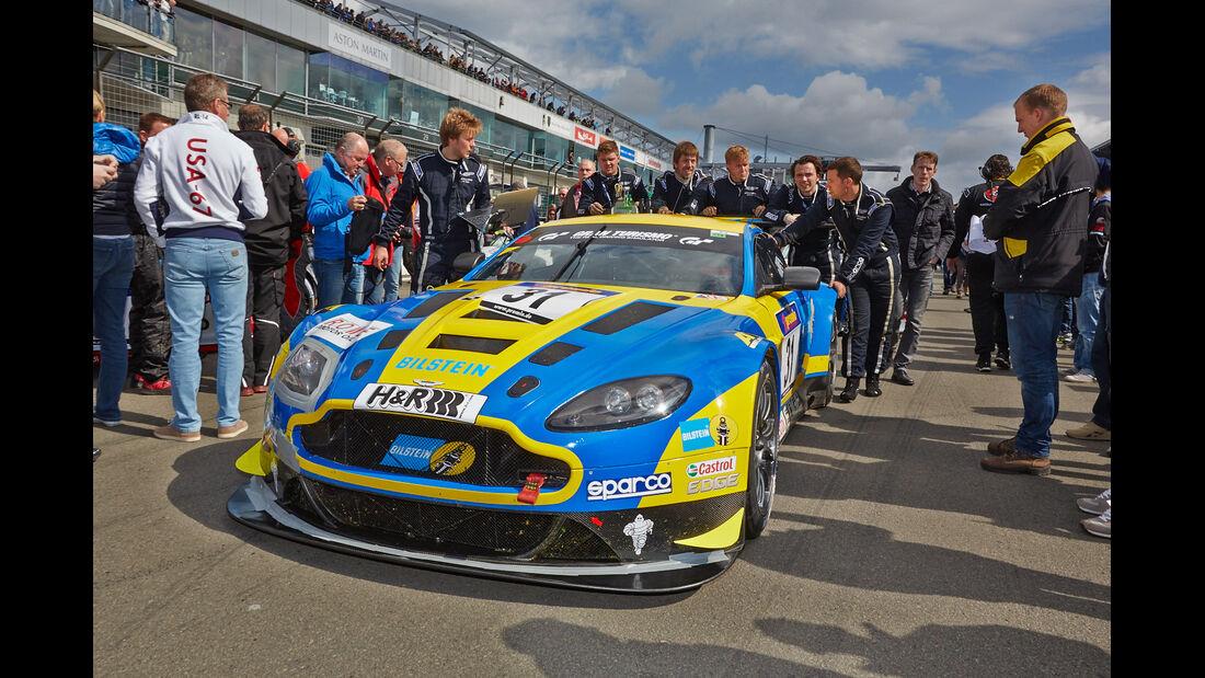 Aston Martin -VLN Nürburgring - 7. Lauf - 23. August 2014