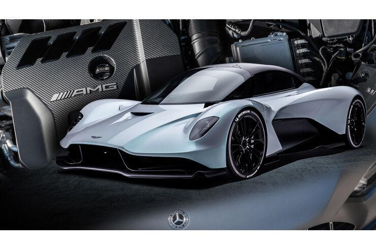 Nix mit V6-Biturbo: Aston Martin Valhalla umgeplant | AUTO MOTOR UND SPORT - auto motor und sport