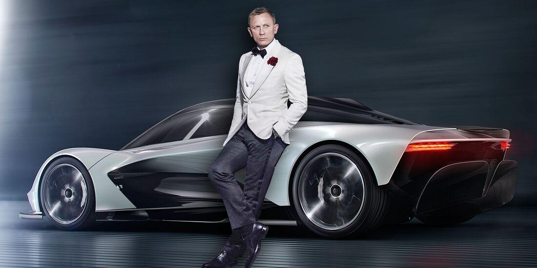 Aston Martin Valhalla als Bond-Auto