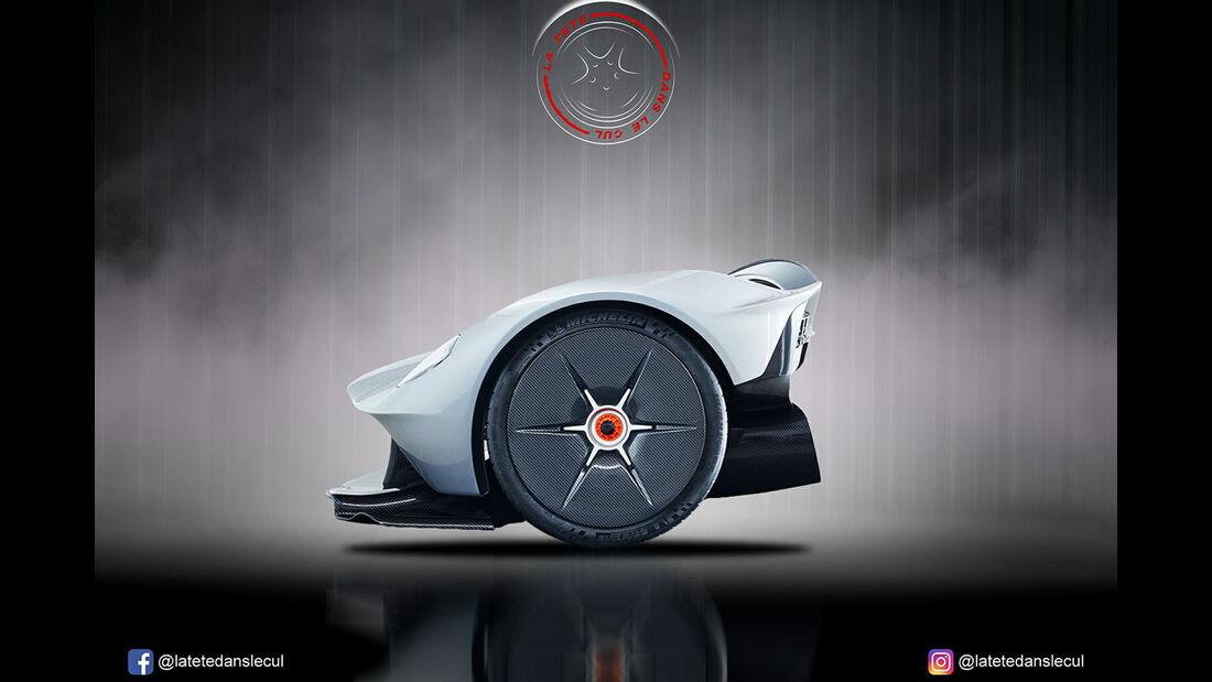 Aston Martin Valkyre Retusche