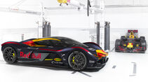 Aston Martin Valkyrie RB001 . Red Bull RB13 - Lackierung