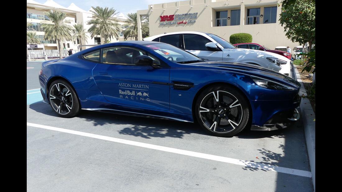 Aston Martin Vanquish - Carspotting - GP Abu Dhabi 2018