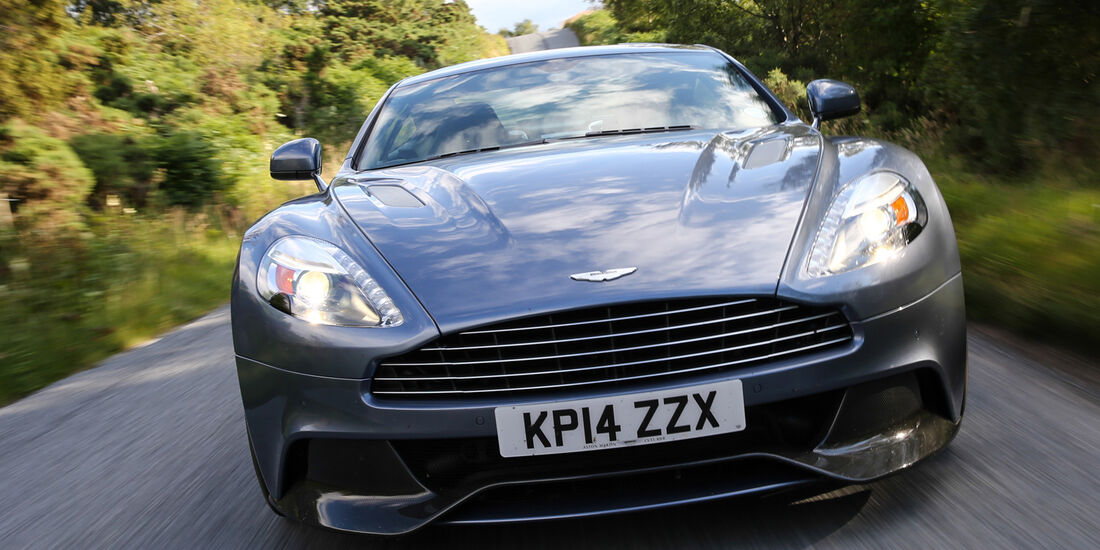 Aston Martin Vanquish Coupé, Impression, Frontansicht
