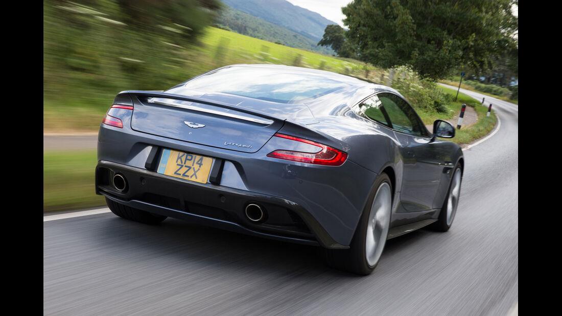 Aston Martin Vanquish Coupé, Impression, Schottland