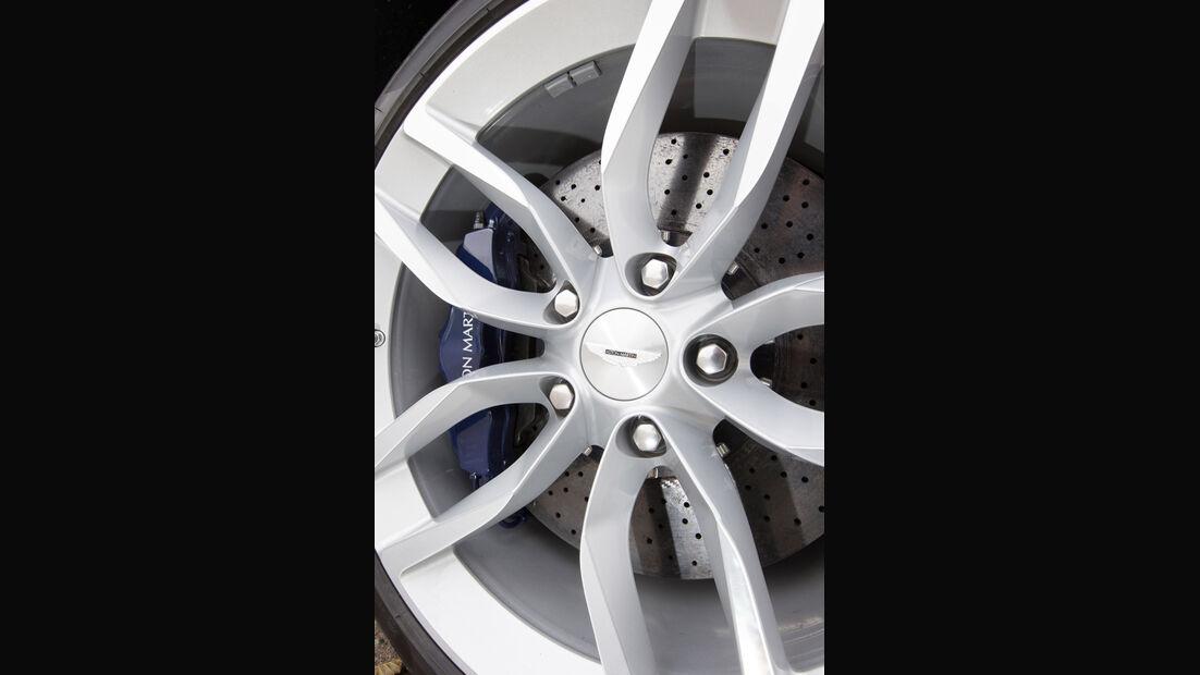 Aston Martin Vanquish, Felge