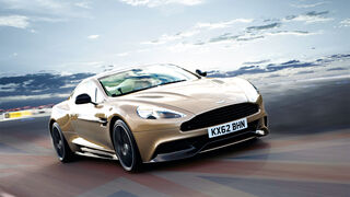 Aston Martin Vanquish, Frontansicht