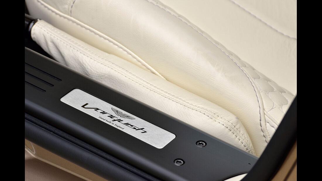 Aston Martin Vanquish, Fußleiste, Detail