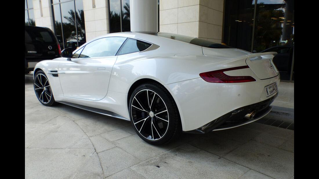 Aston Martin Vanquish - GP Abu Dhabi - Carspotting 2015