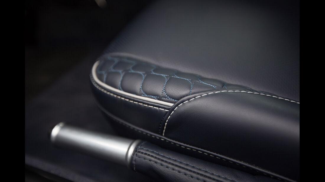 Aston Martin Vanquish, Handbremse