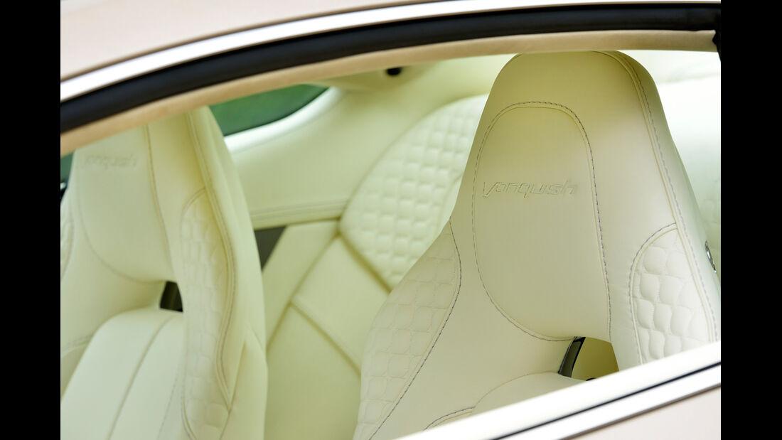 Aston Martin Vanquish, Kopfstützen