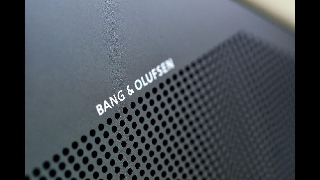 Aston Martin Vanquish, Lautsprecher, Bang & olufsen