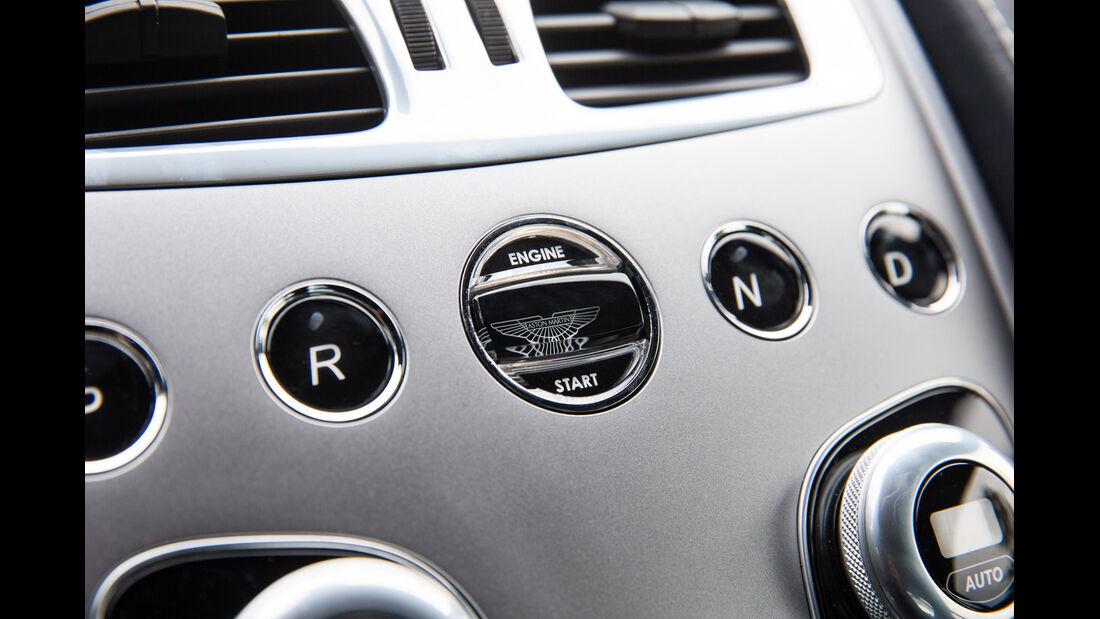Aston Martin Vanquish, Mittelkonsole