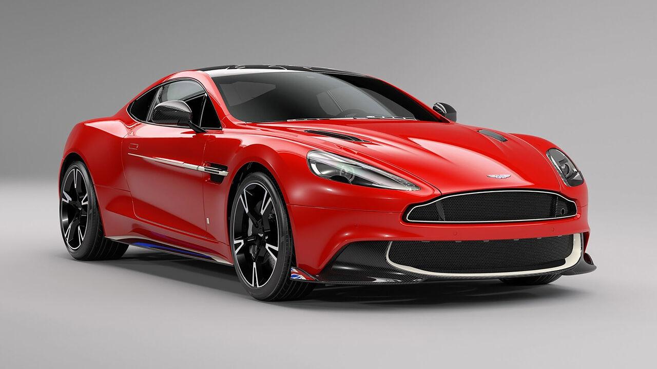 Aston Martin Vanquish S Red Arrows Edition Auto Motor Und Sport
