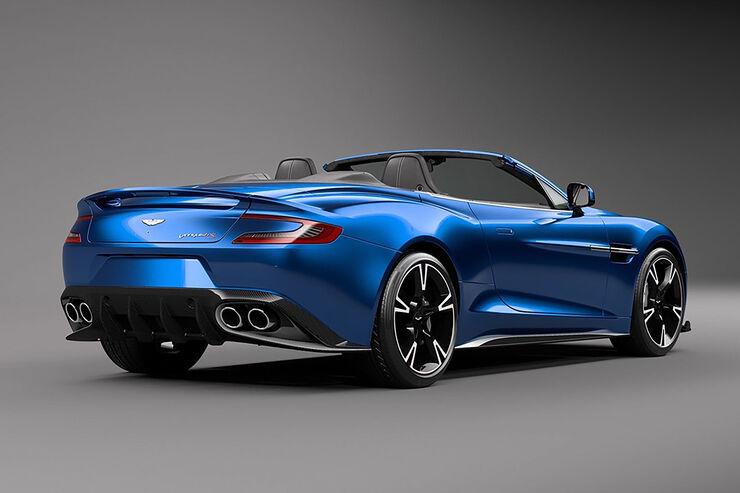 Aston Martin Vanquish S Volante 603 Ps Auch Für Das Cabrio Auto Motor Und Sport