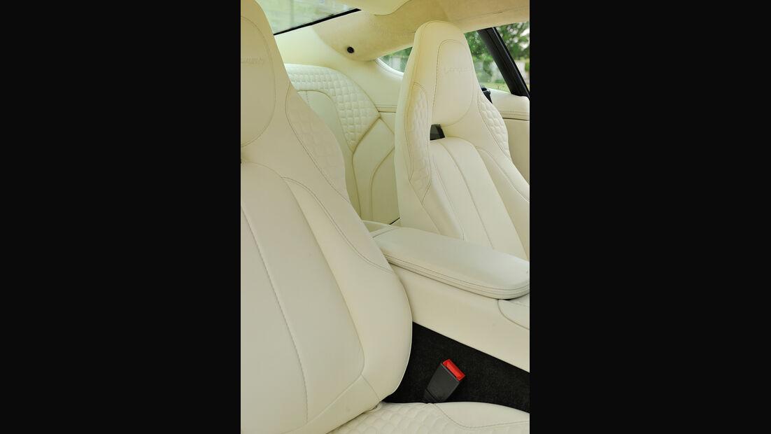 Aston Martin Vanquish, Sitze, Ledersitz