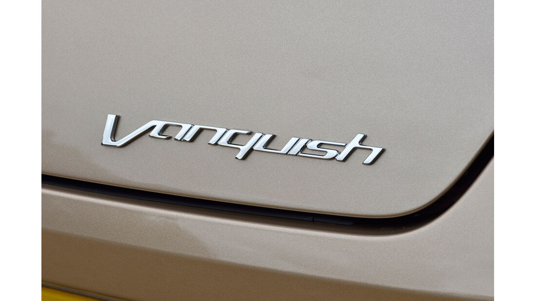 Aston Martin Vanquish, Typenbezeichnung
